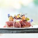 [New Rooftop Restaurant at Funan] Snow-Aged Wagyu Nigiri (omakase at $150++).