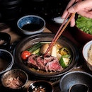 A4 Wagyu Toban Yaki Set Lunch ($49).