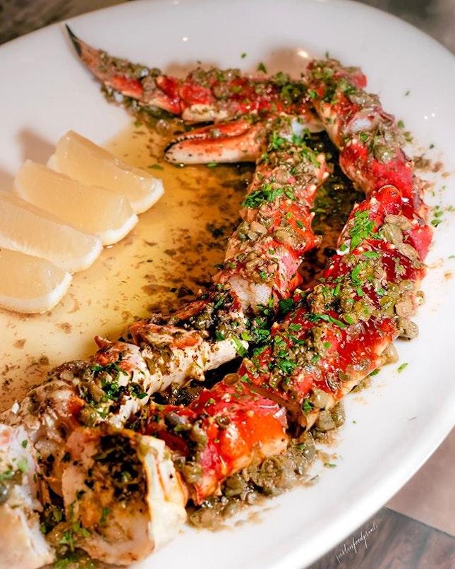 King Crab Leg ($98).