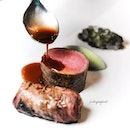 Grilled Lamb (included in $168++ five-course dinner, or $198++ seven-course dinner).