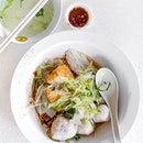 Fishball Noodles ($4/$6/$8, $8 pictured).