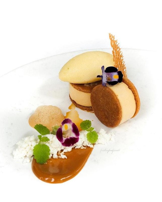 Chef Jason's interpretation of Kaya Toast (included in my $268++ Corner House Experience Menu).