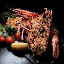 Oven-Baked Lobster.
