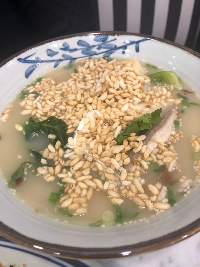 Nice Fish Soup With Rices $18.90++