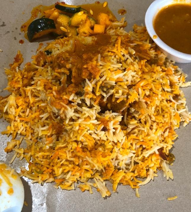 Mutton Biryani ($6)