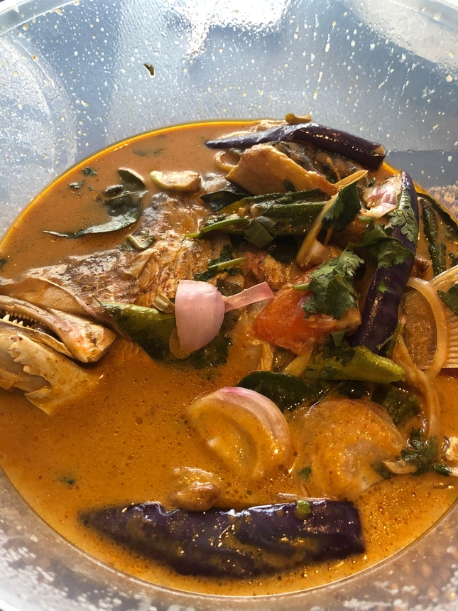 Fish Head Tom Yum Curry ($25.90++)