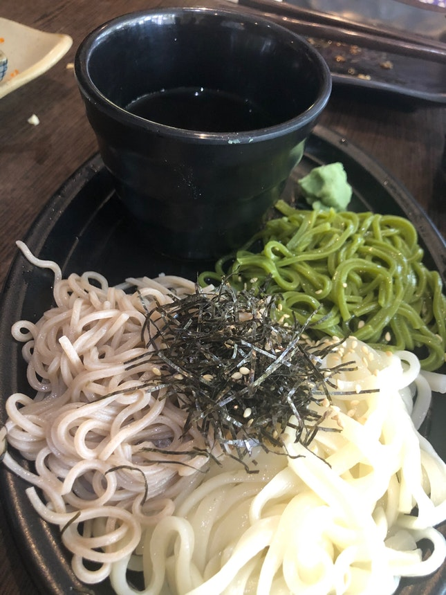 Three Types Of Noodles