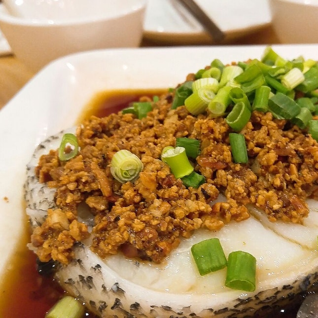 Steamed Cod Fish In Beancrumbs