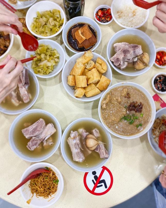 Go For The Mee Sua And Fried Porridge