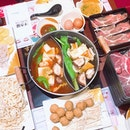 all pigged out with this sukiyaki buffet and my favourite ice cream brand.