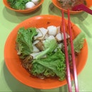 Blue Star Fishball Minced Meat Noodle (Tanjong Pagar Plaza Market & Food Centre)