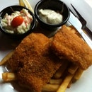 Fish & Chips @ $6.90