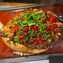 Mixed Chillies Qingjiang Fish ($48.90++)