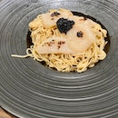 Cold Truffle Somen With Hotate And Caviar ($16++)