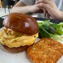 The Breakfast Burger ($20)