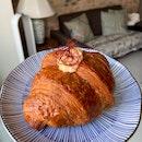 Mentaiko Prawn Croissant ($5)
