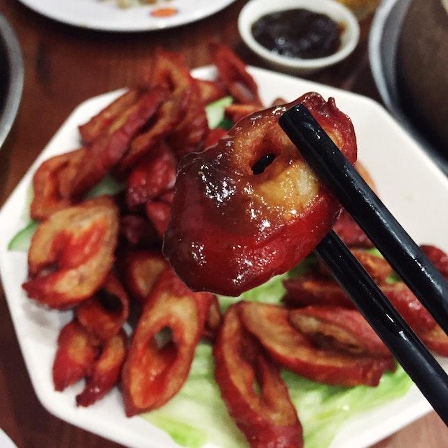 Fried Intestines