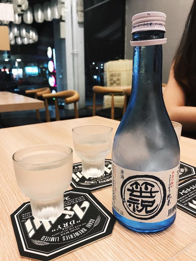 House Sake; 300ml ($20)