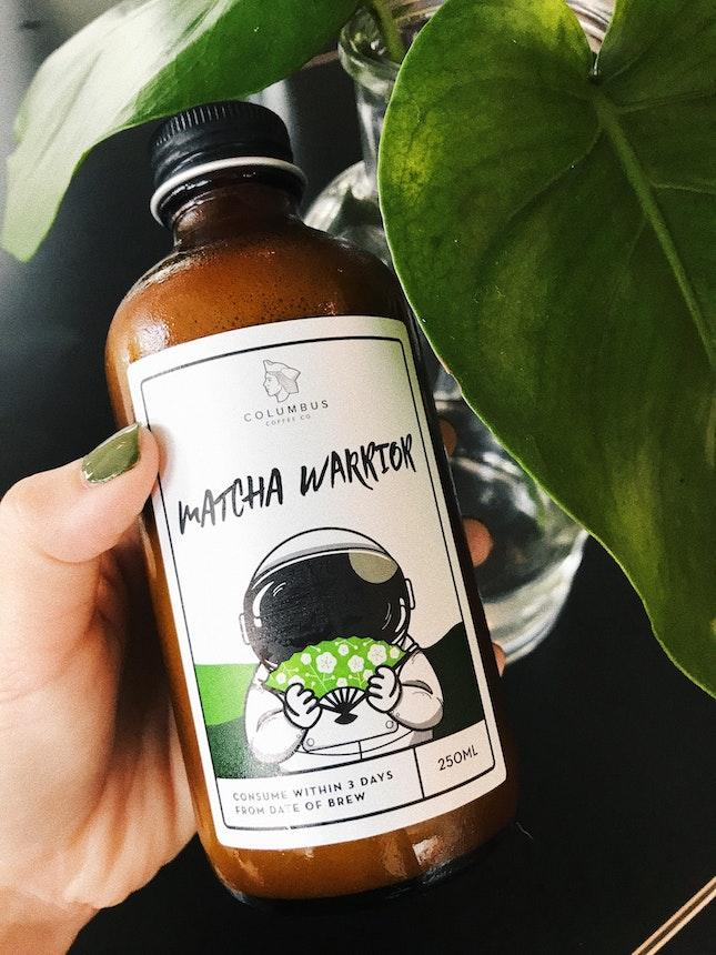 Matcha Warrior Cold Brew ($7)