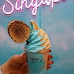 Life is peachy when you have sweet treats like this Peach Softserve from Aqua S!