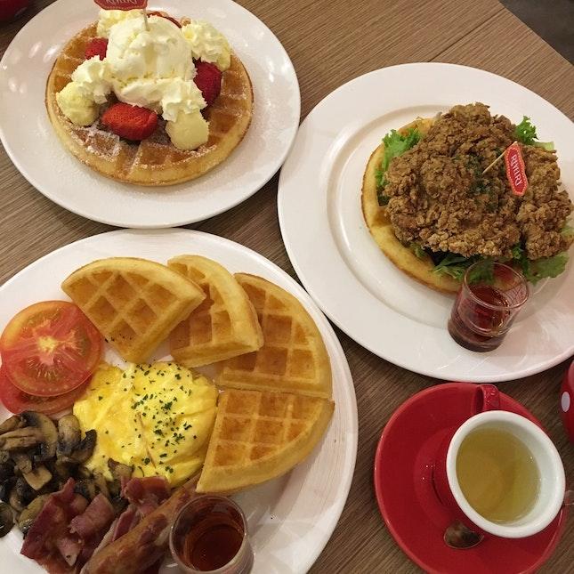Everything on Waffles