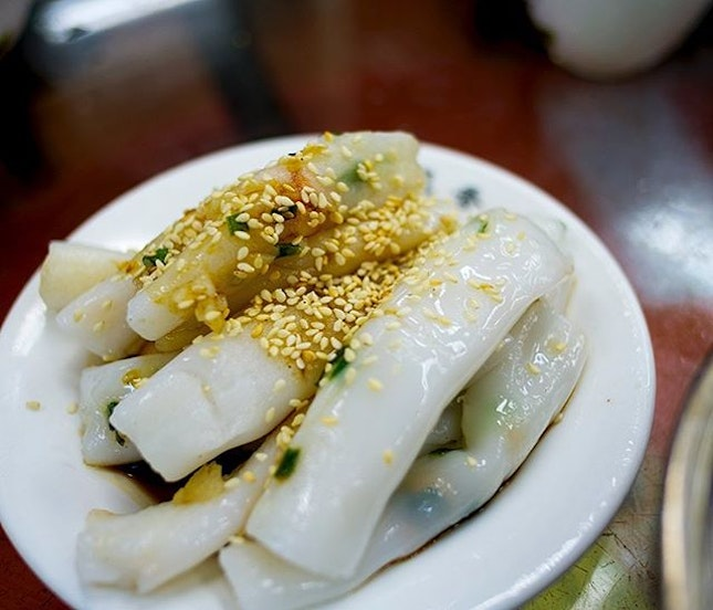 Fried Cheong Fan; something you don't get in Singapore often.