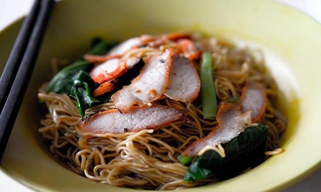 Wanton noodles at its finest.