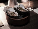Fresh and plump Irish oysters in a special brine sauce.