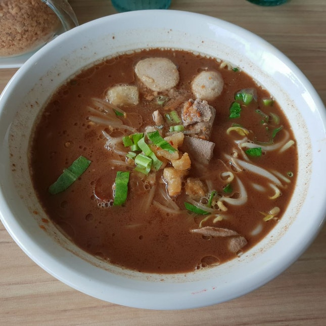 Pork Thai Boat Noodles