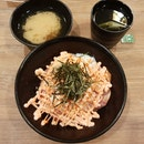 Salmon Mentaiko Mayo Donburi At The Cathay