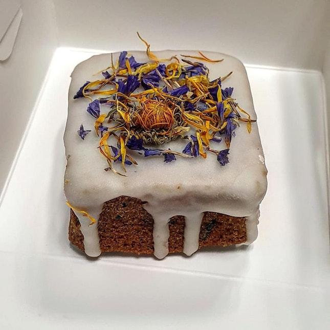 Lemon Lavender Honey Cake