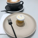 Cappuccino With Passionfruit Meringue Cake