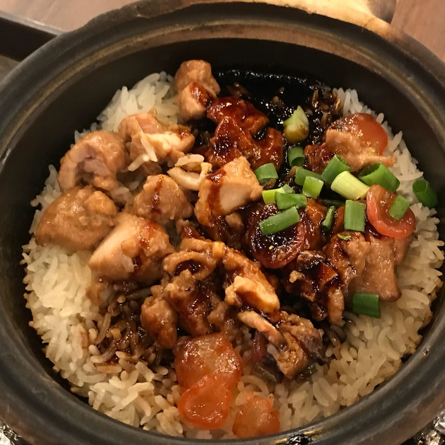 Clay pot Rice