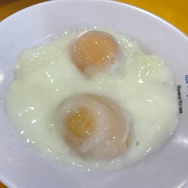 Half Boiled Eggs