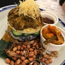 Signature Nasi Lemak Tower ($16.90)