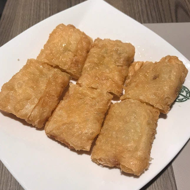 Beancurd Skin With Shrimps ($6.30)