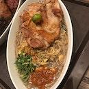Chicken Chop Hokkien Mee ($9.90)