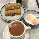 Kaya Butter Toast Set ($4.80)