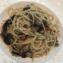 Mushroom Aglio Olio ($12.90)