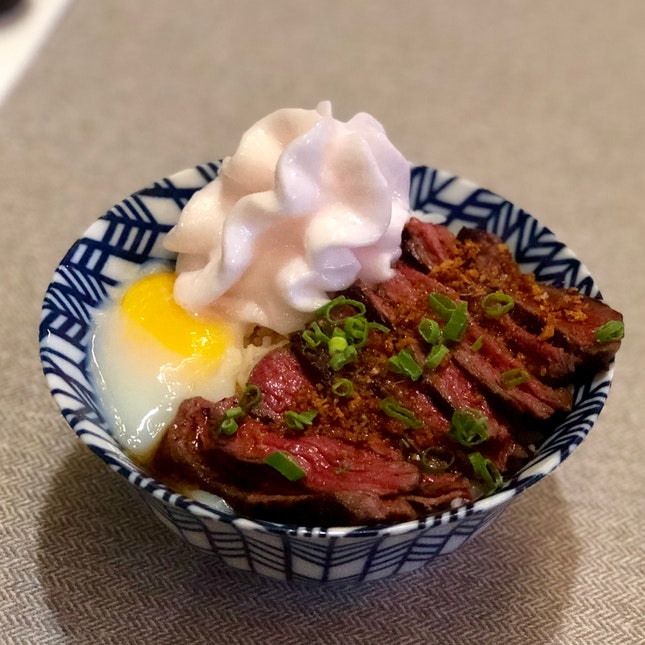 Black Pepper Wagyu Bowl ($22)
