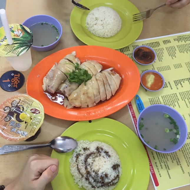 Chicken Rice on Easter Weekend