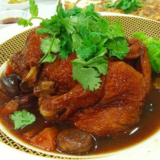 Our favourite dish at Chao San Cuisine - Chestnut Chicken!