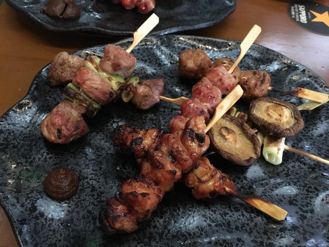 Meat Skewers Platter (after 6pm)