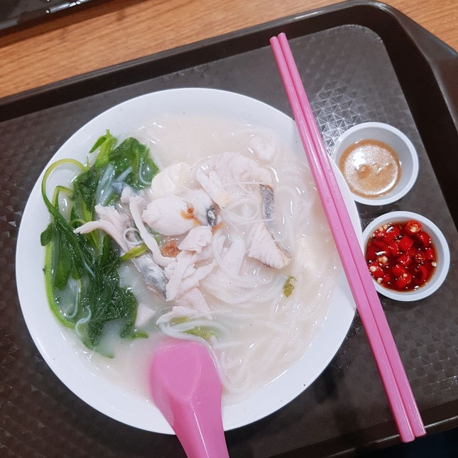 The Fish Soup Noodles We Did Not Finish Eating