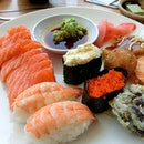 Cheap Japanese Buffet 🍣🍣🍣 My 1st plate usually looks like this..