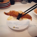 Braved the long queue and was satisified by Genki Sushi's dai man zaku series, especially the jumbo ebi fry.