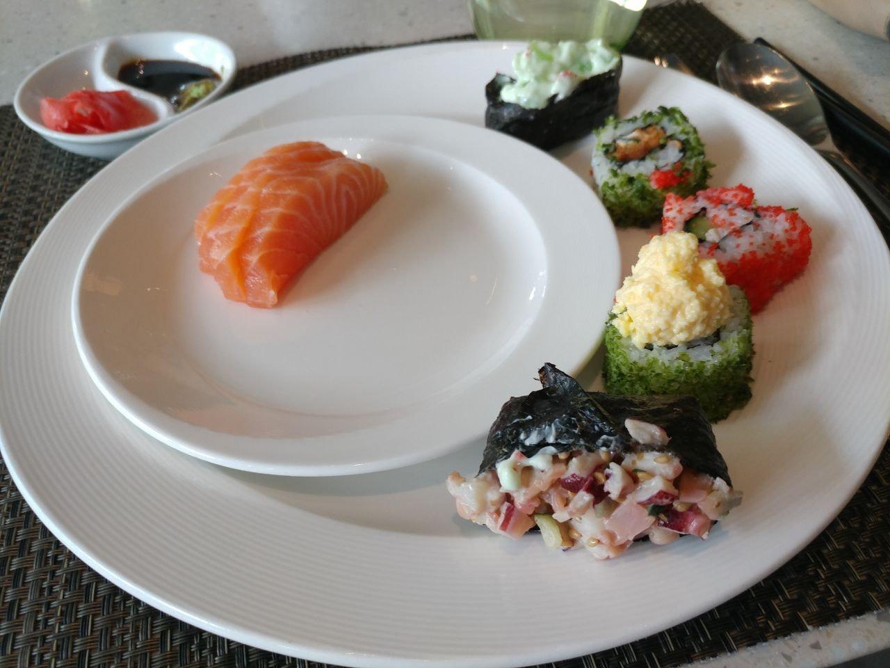 Good Jap Selection At Buffet