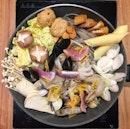 Seafood Yuzu Salt Jjigae($16.90/1pax, $28.90/2pax)