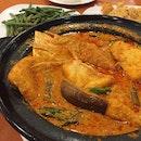 Assam Curry Fish Head ($20)