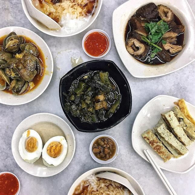 Heng Long Teochew Porridge ($16 on the table)